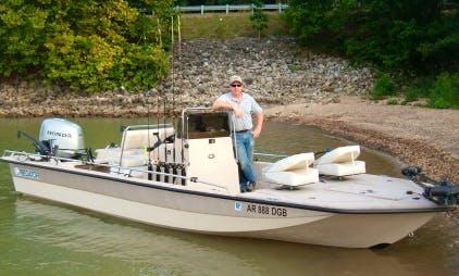 22' Center Console Fishing Trips in Cedar Township, Arkansas