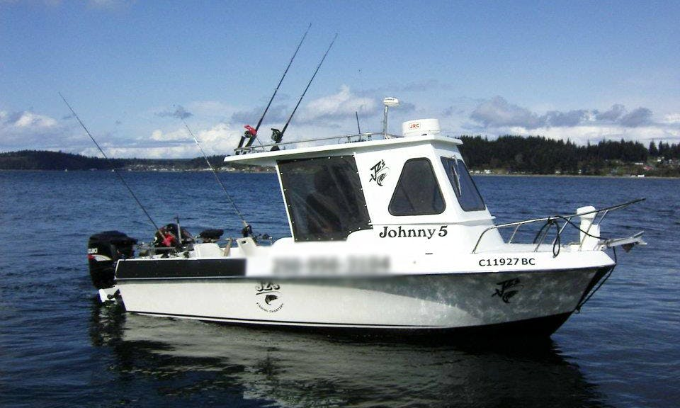 21' Fishing Charter In Port McNeill
