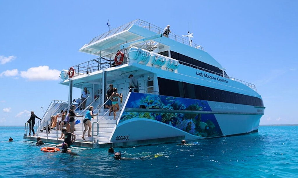 how to get to lady musgrave island from brisbane