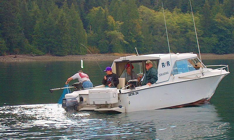 Cuddy Cabin Fishing Trips in Campbell River, Canada