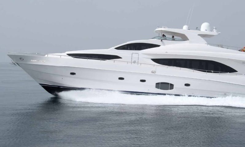Cruise the Fantastic Arabian Gulf Aboard a 50 Person Power Mega Yacht