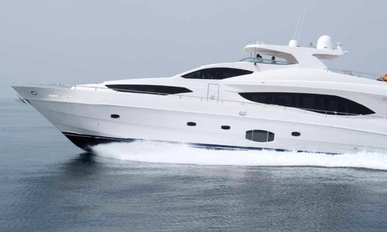 101' Majesty Motor Yacht In Dubai, Uae