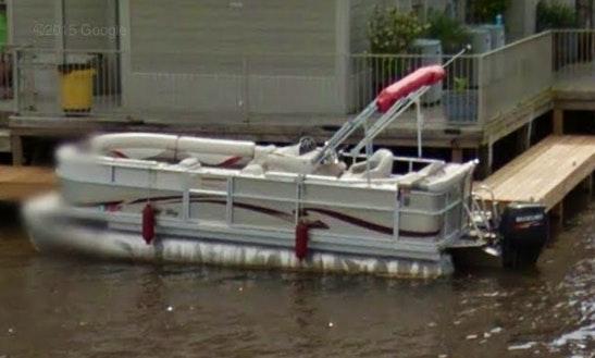 Rent Standard Pontoon Boat In Ridgeland