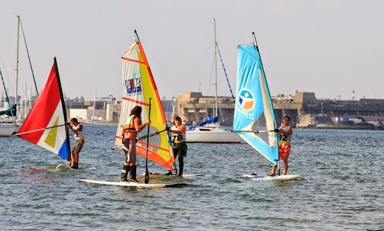 Learn Windsurfing Up To 1 Week In Port-louis, France