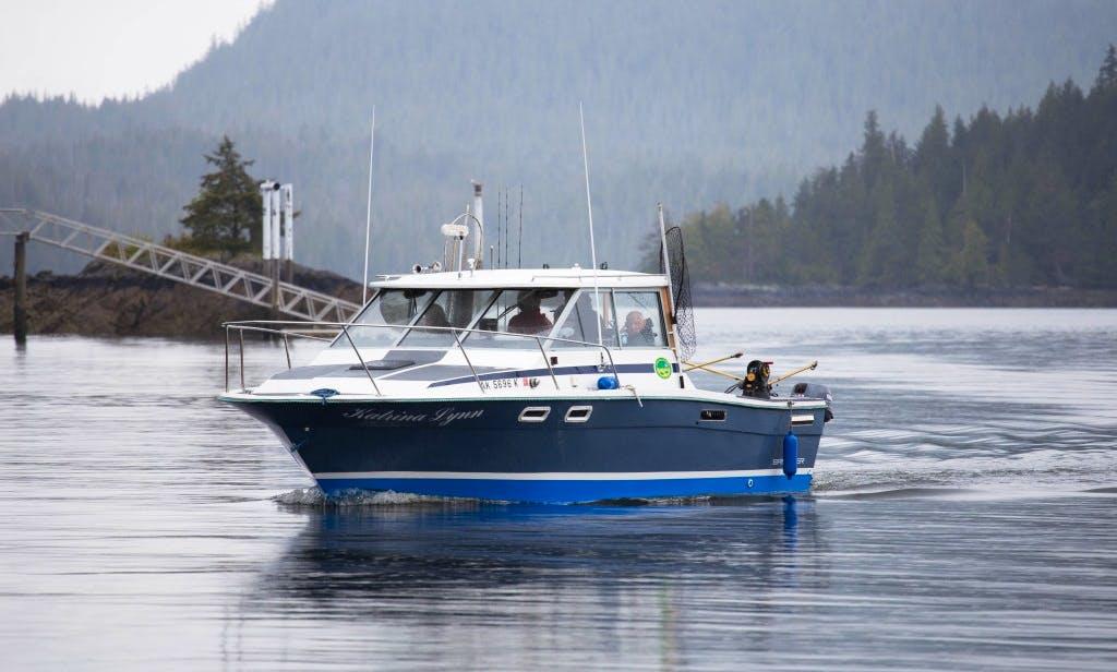 "Fishing Charter On 28ft ""Katrina Lynn"" Bayliner Cuddy Cabin In Ketchikan, Alaska"