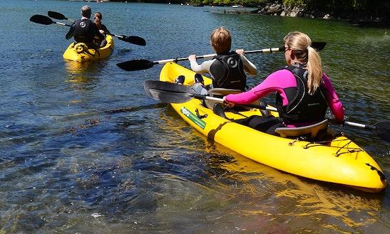 Tandem Kayak Rental At Pomme De Terre State Park
