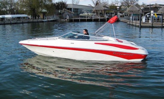 Rent 21' Crowline  Speed Boat In Center Grove