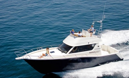Rodman 41 Flybridge Is Available For Charters In Bvi