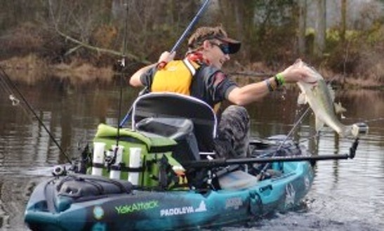 Fishing And Recreational Kayak Rentals In Western North Carolina