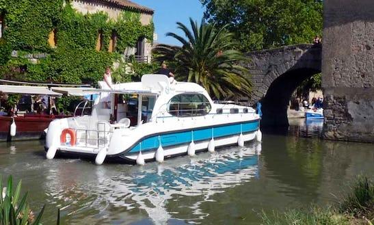 'estivale Quattro' Motor Yacht Hire In Le Somail