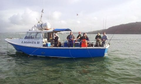 "Charter on 34ft ""Lagosta II"" Offshore 105 Sportfisherman Boat In Cork, Ireland"