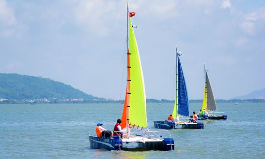 Sailing Lessons  In Vung Tau Marina, Vung Tau