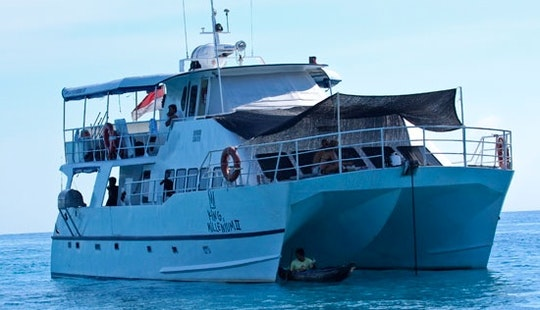 62' Surf Charter In Padang, Indonesia