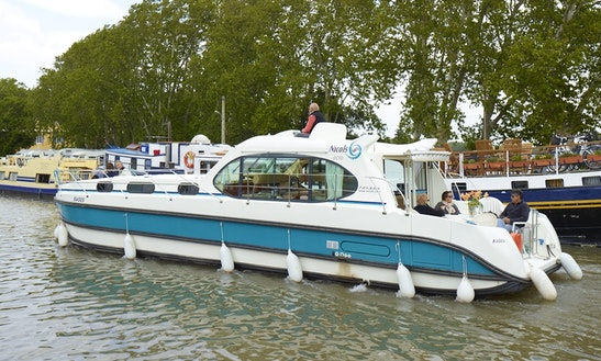'estivale Octo' Motor Yacht Hire In Saverne