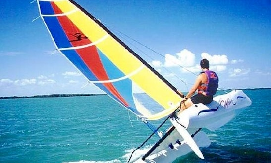 Hire A Hobie Cat Bravo To Sail The Beaches Of Sant Adria De Besos, Spain