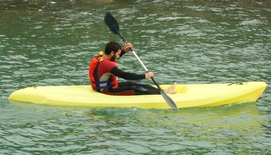 Rent A Single Kayak In Sant Adria De Besos, Spain
