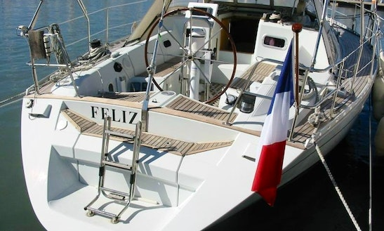 8 Person Cruising Monohull For Hire & Trips From Saint-florent, France