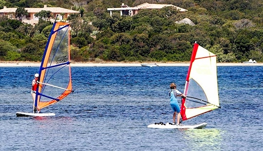 Exciting Windsurfing With Patric In Figari, France
