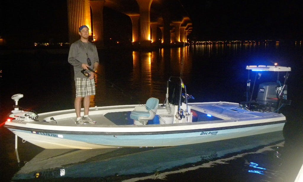 """Enjoy Fishing In Stuart, Florida On 18ft """"Nessa-Sea-T"""" Dolphin Skiff"""