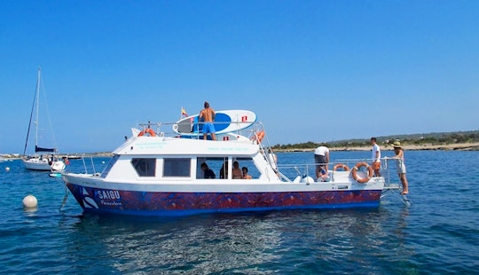 Glass Bottomboat Tour In Formentera