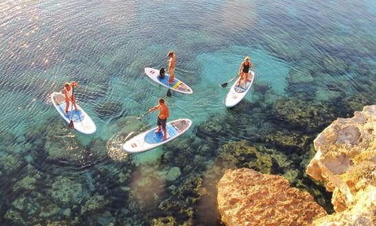Paddle Surf In Formentera
