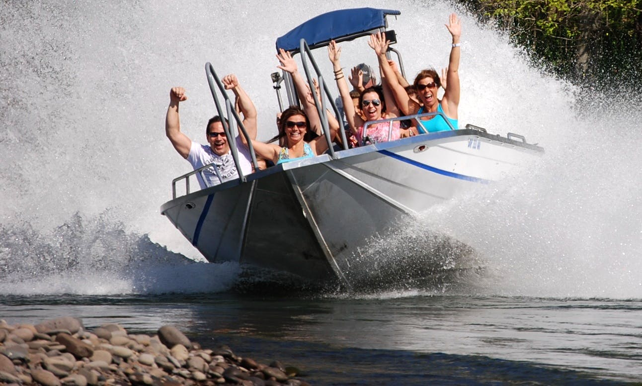 Jet Boat Tour In Central Point