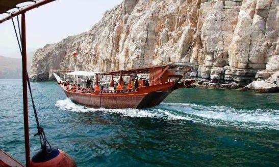 Enjoy Musandam, Oman On Dhow Boat