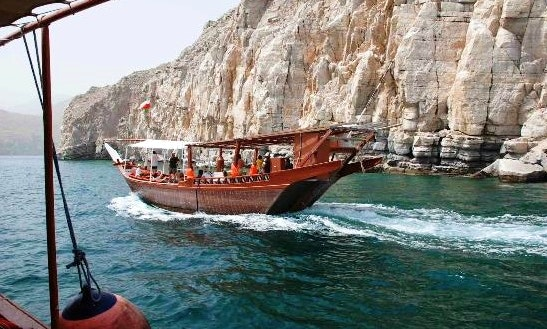Enjoy Musandam, Oman On Dhow Boat