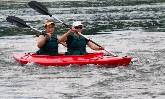 Tandem Kayak Rental & Trips In The Shenandoah River