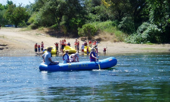 Raft Rentals On The Lower American River