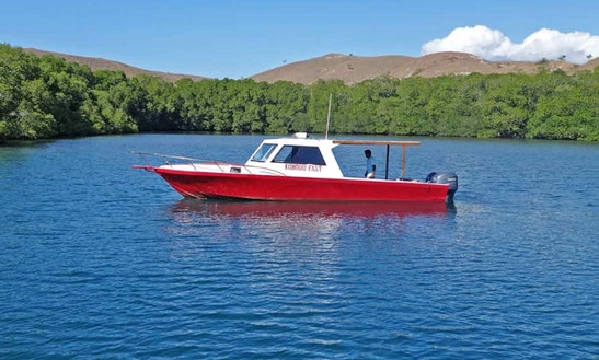 Speed Boat For Diving And Accomodation In Komodo