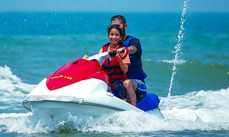 Jet Ski + Ringo Ride + Banana Ride in Goa