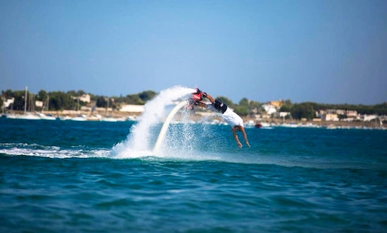 Flyboarding Rides In Orbetello