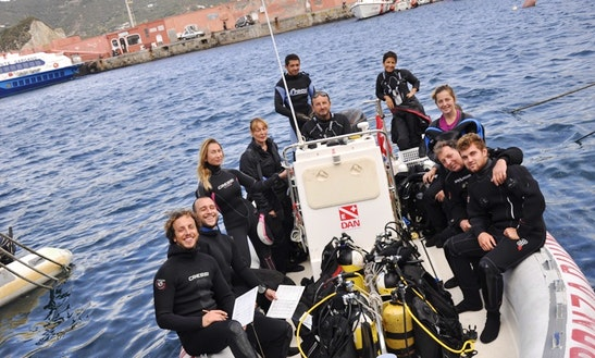 Learn To Scuba Dive In Ponza