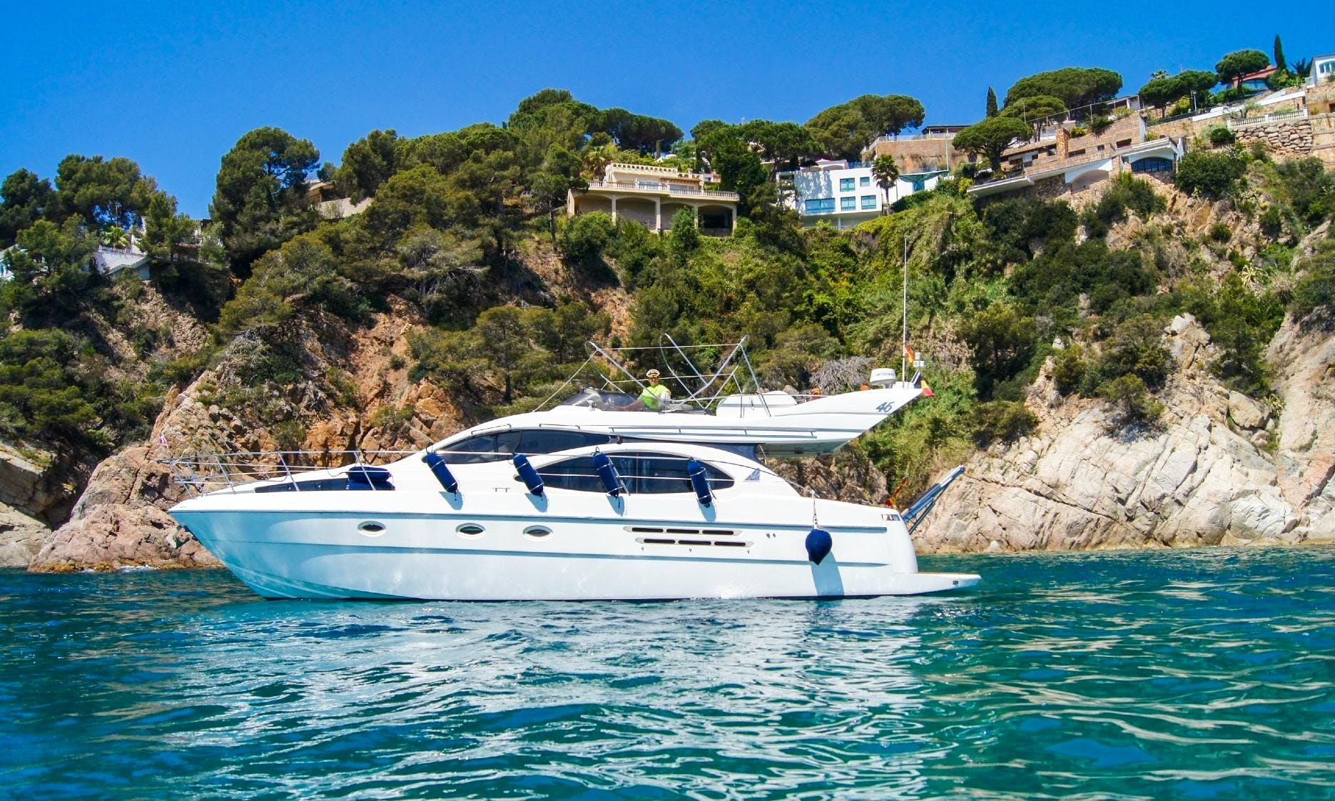 'Richard' Motor Yacht Charter in Catalunya, Spain