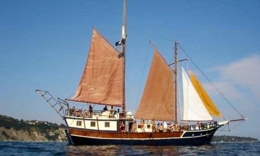 """Charter this 74ft """"Santa Marina"""" Sailing Yacht in Varna, Bulgaria"""