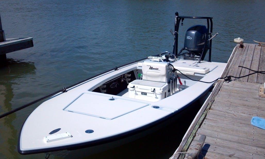 "17ft ""Maverick Skiff"" Center Console Fishing Charter in Isle of Palms, South Carolina"