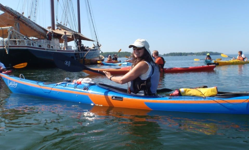 Single Sea Kayak Rental and Kayak Training in Castine