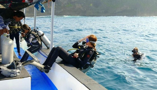 Try Scuba Diving In Nusa Lembongan