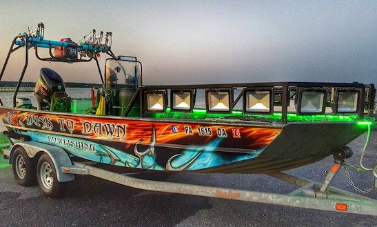 Guided Bowfishing Trip Charter In Lower Windsor Township