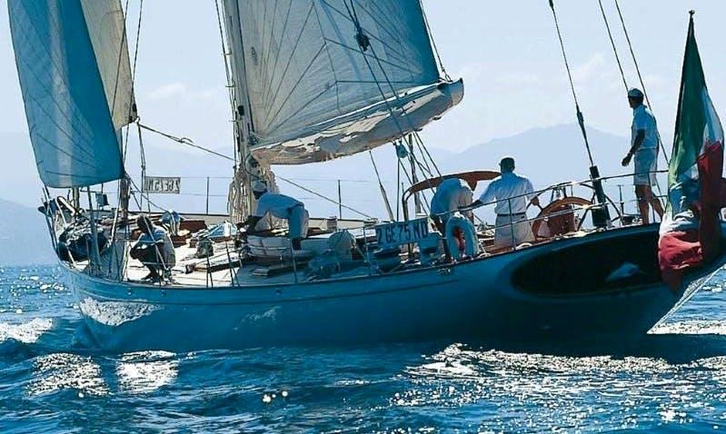 "Classic Cruising Sloop ""Whitefin""  in Prijevor"