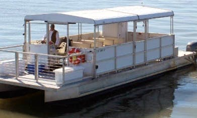 36' Pontoon Charter in Charleston, South Carolina