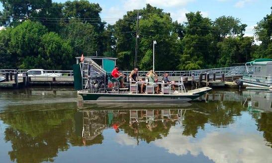 Airboat Swamp Wildlife Tours In Westwego, Louisiana