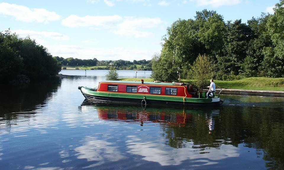 'Emer' Canal Boat Hire in Leitrim
