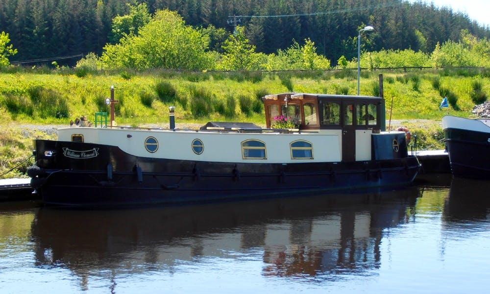 'Deirdre' Dutch Barge Hire in Leitrim