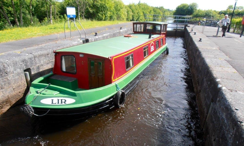 'LIR' Folk Barge Hire in Leitrim