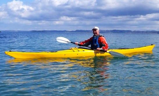 Single Kayak In Santa Barbara, California