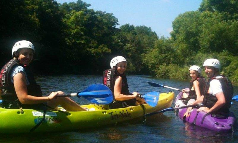 2 Hours City River Kayak Trips in Dublin, Ireland