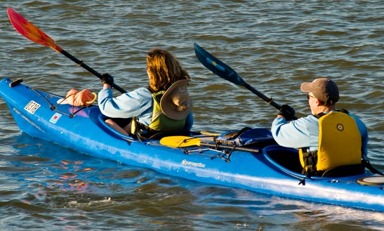 Double Kayak Rental & Trips In Cass Township