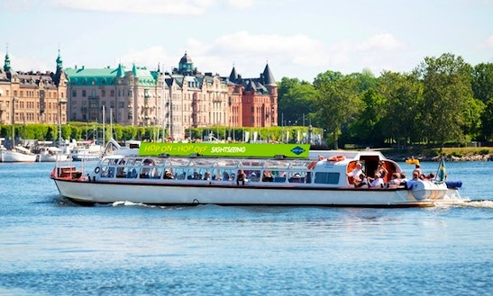 Hop On - Hop Off Boat Trips In Stockholm